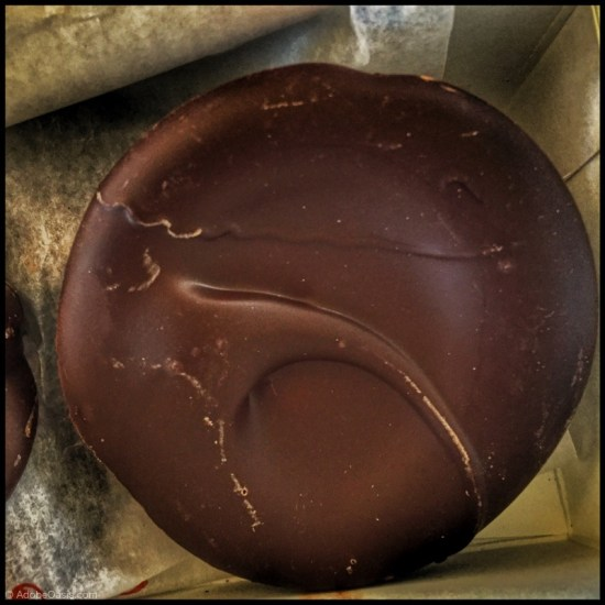 Chocolate swirl from The ChocolateSmith in Santa Fe (Source: Geo Davis)