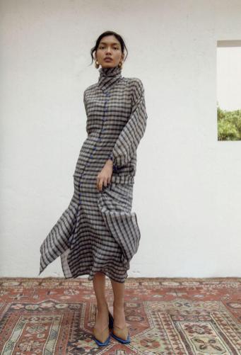 Bagasáo's Helen blouson dress