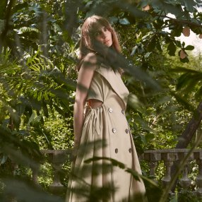 Jill Lao's Amelia trench dress