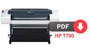 Réparateur et fiche technique traceur Hp T790