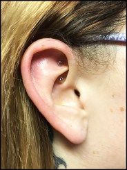 Rook Piercing by Brittany.