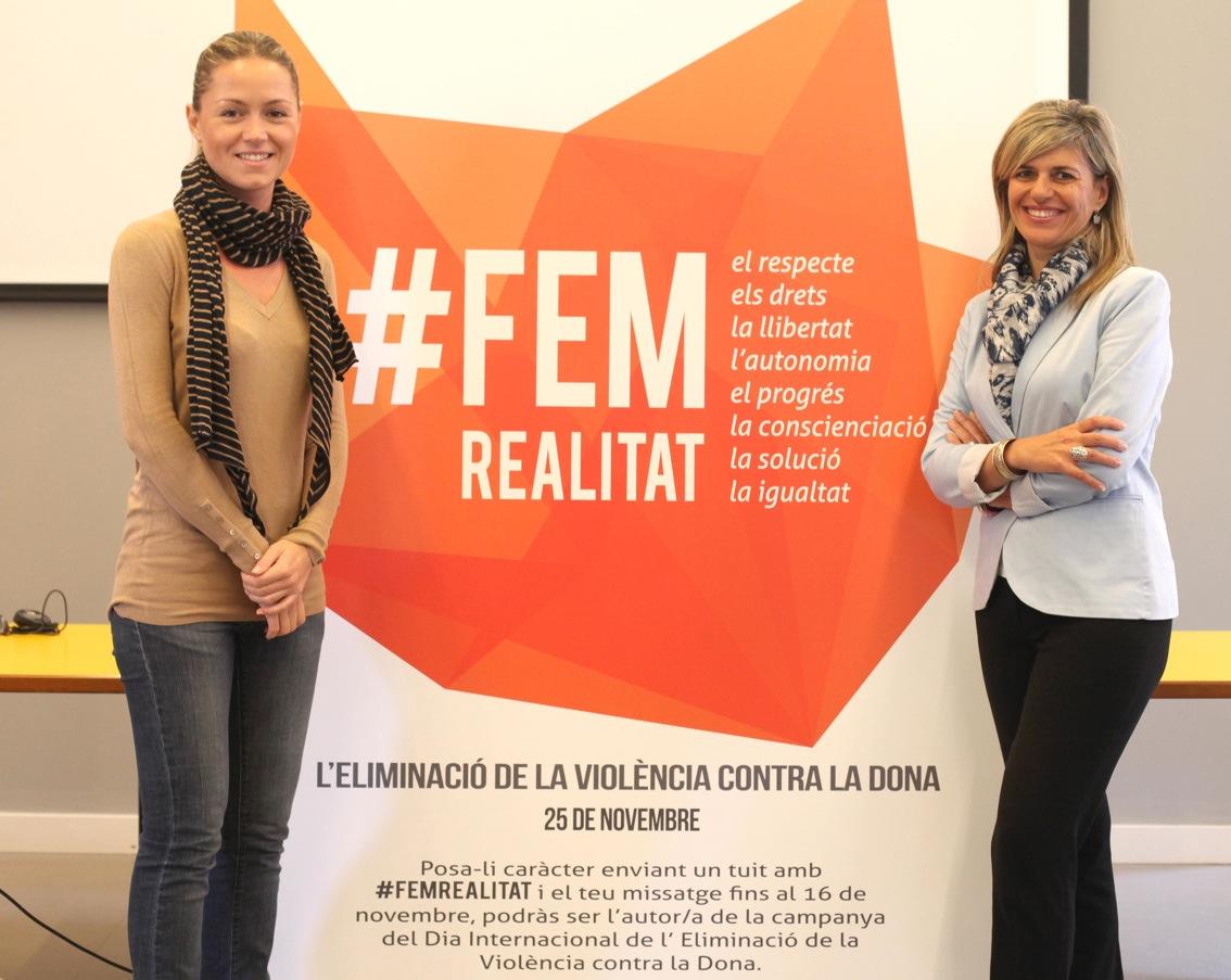 #FEMREALITAT, la campaña de la Generalitat Valenciana contra la violencia de género