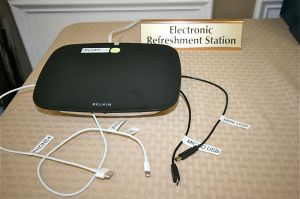 Electronic Refreshment Station 2014