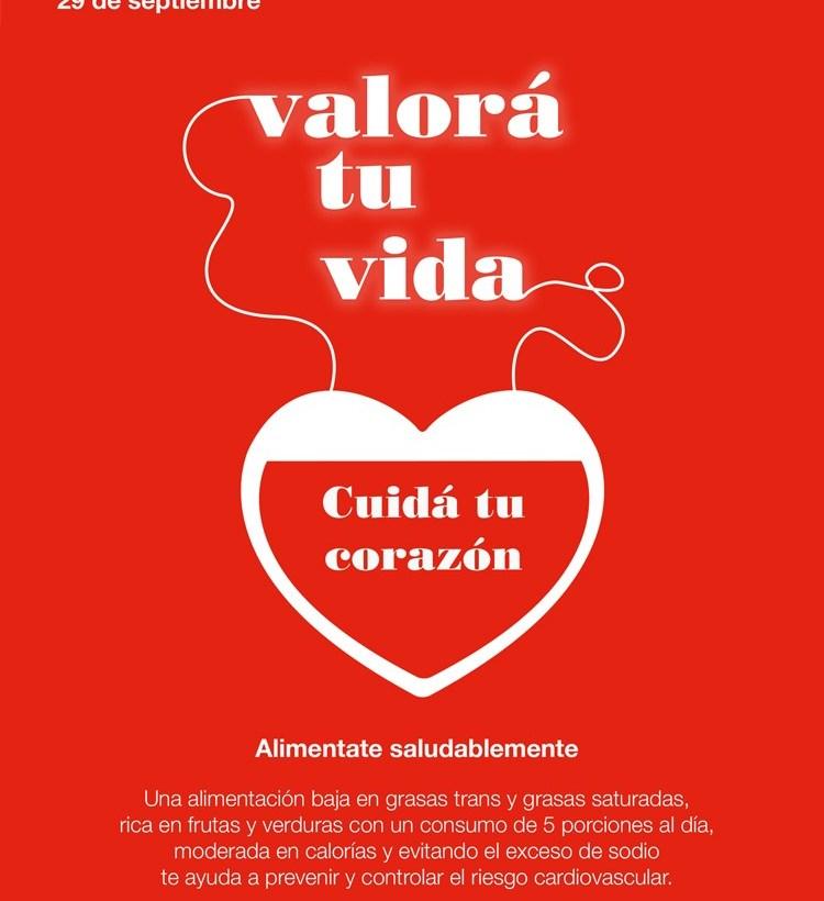Día Mundial del Corazón: 1 de cada 5 fallecimientos es atribuible a causas cardíacas