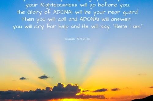 Isaiah 58:8-10