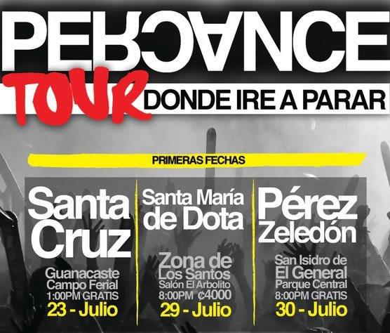 Percance en Concierto Tour Donde Ire a Parar - Adondeirhoy.com