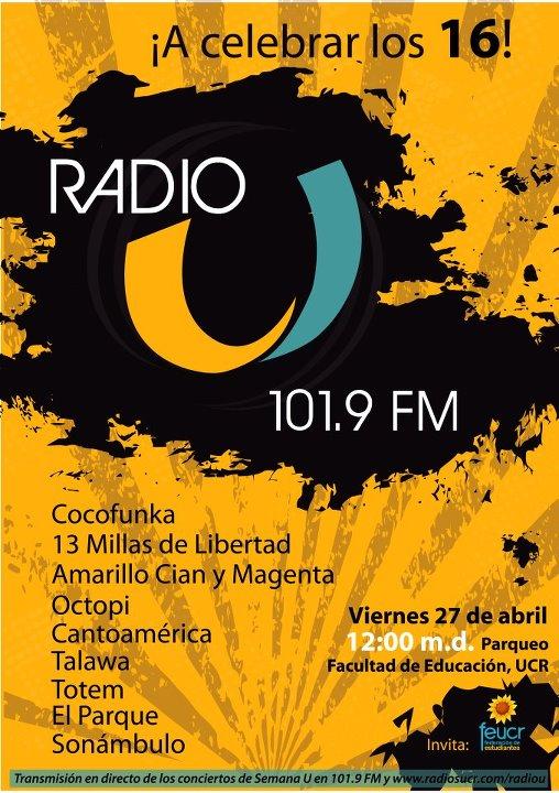 Aniversario Radio U - Adondeirhoy.com
