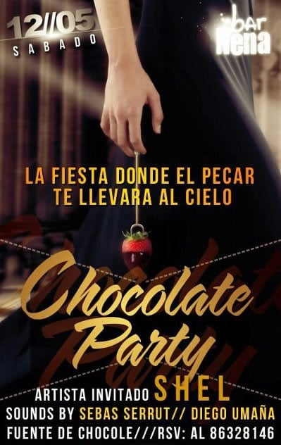 Chocolate Party en La Nena - Adondeirhoy.com