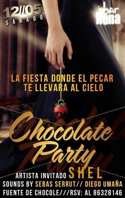 Chocolate Party en La Nena - Adondeirhoy.com