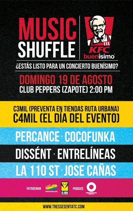 Music Shuffle KFC