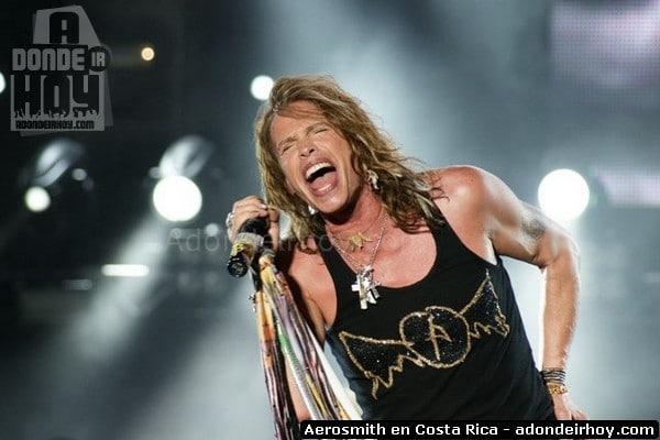 Aerosmith en Costa Rica