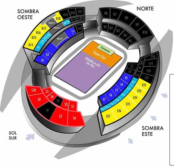 Mapa Black Sabbath en Costa Rica