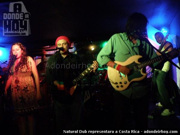 Natural Dub representara a Costa Rica
