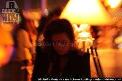 Michelle Gonzalez en 8ctavo Rooftop