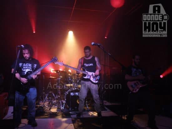 Pneuma se retira como telonero de Black Sabbath