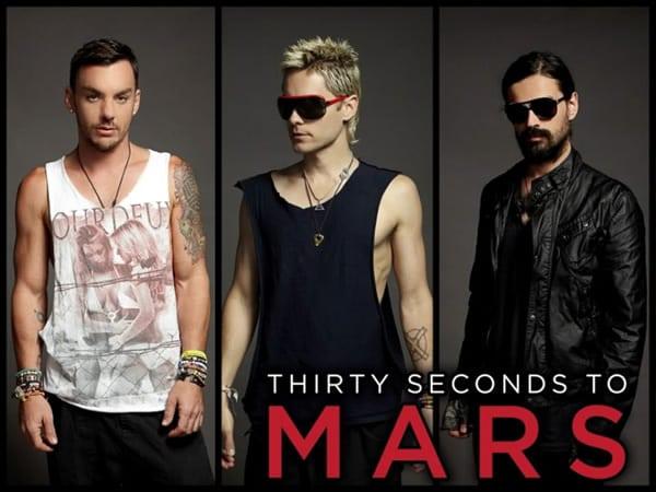 Thirty Seconds to Mars en Costa Rica