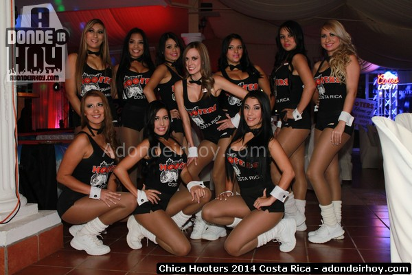 Chica Hooters 2014 Costa Rica