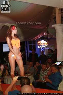 Pasarela Chica Hooters 2014 Bikini Costa Rica - 012