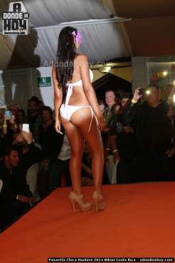 Pasarela Chica Hooters 2014 Bikini Costa Rica - 038