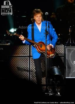 Paul McCartney en Costa Rica
