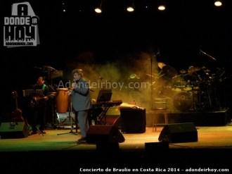 Concierto de Braulio en Costa Rica