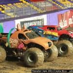 Wheelies Monster Jam 2014 Costa Rica