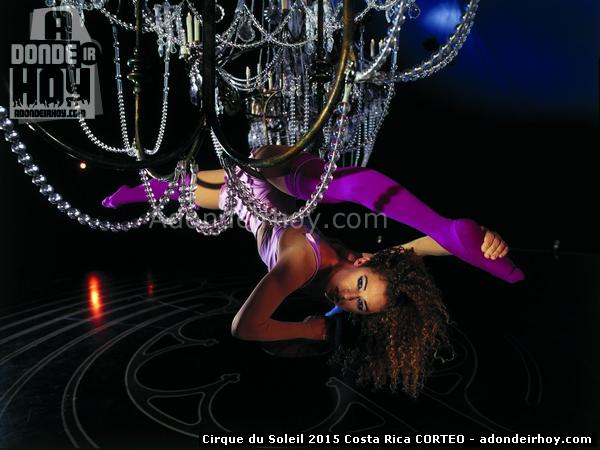 Carpa del Cirque Du Soleil 2015 Costa Rica CORTEO