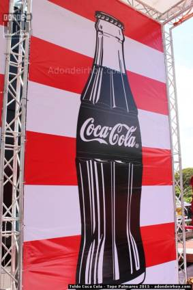 Toldo Coca Cola - Tope Palmares 2015