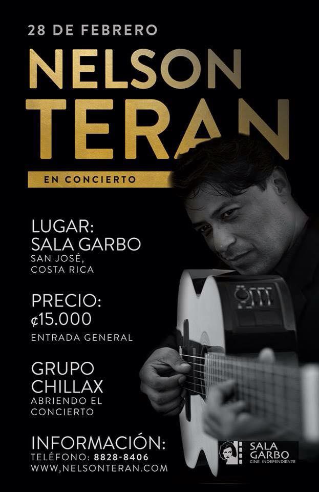 Vuelve Nelson Teran - Trova y mas Concierto en Costa Rica 2015