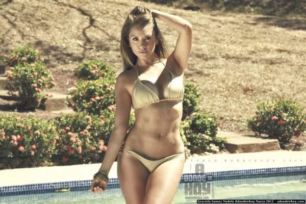 Graciela Gomez Modelo Adondeirhoy Marzo 2015