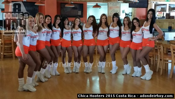 Finalistas Chica Hooters 2015