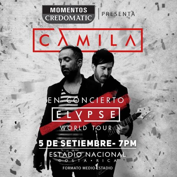 Concierto de Camila en Costa Rica 2015