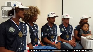 Costa Rica Campeon mundial de Surf 2015
