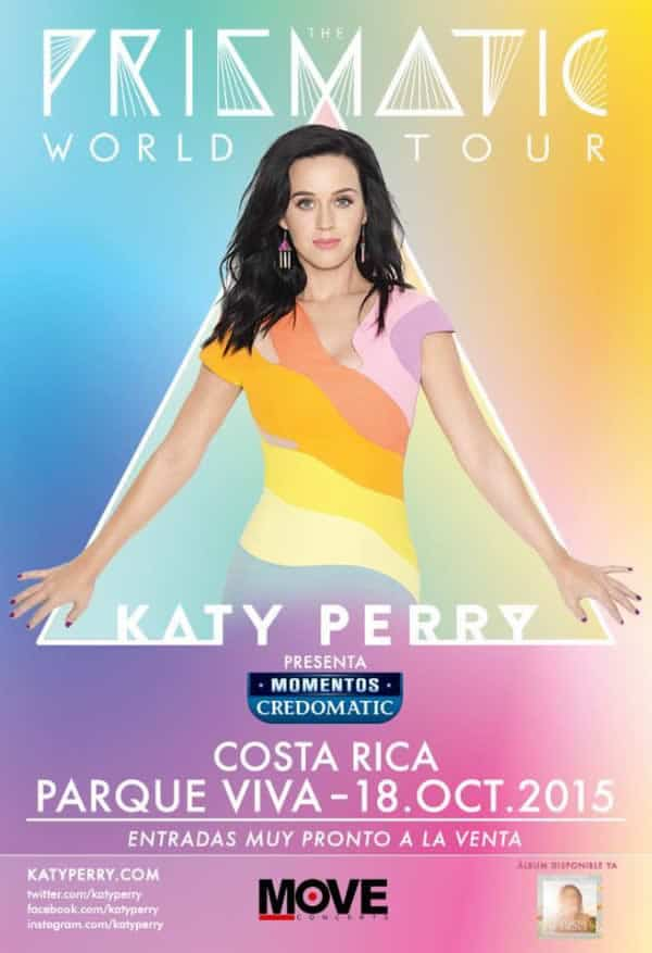 Katy Perry en Costa Rica PRISMATIC WORLD TOUR