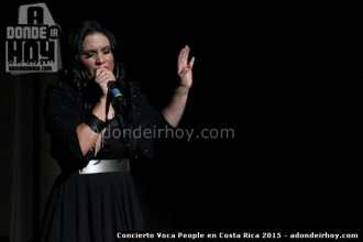 Concierto Voca People Costa Rica 2015