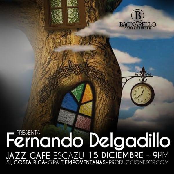 Concierto de Fernando Delgadillo en Costa Rica