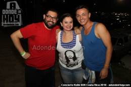 Concierto Kolbi 6DK con Steve Aoki en Costa Rica 2016