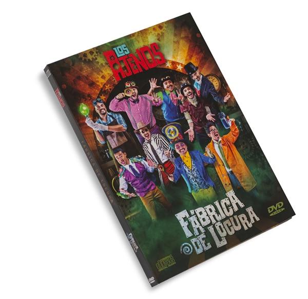 DVD de Los Ajenos La Fábrica de Locura