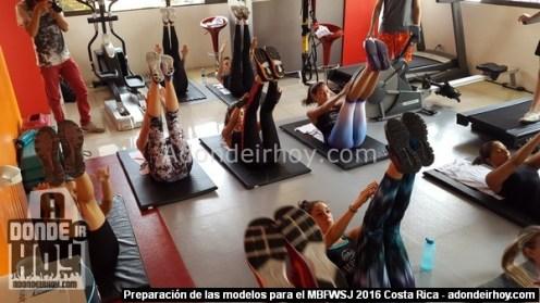 Preparación de las modelos para el MBFWSJ 2016