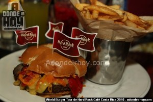 World Burger Tour de Hard Rock Café