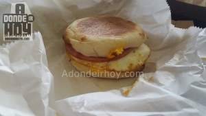 Muffin Canadian Bacon - Lanzamiento Big Mmuffin en AMPM
