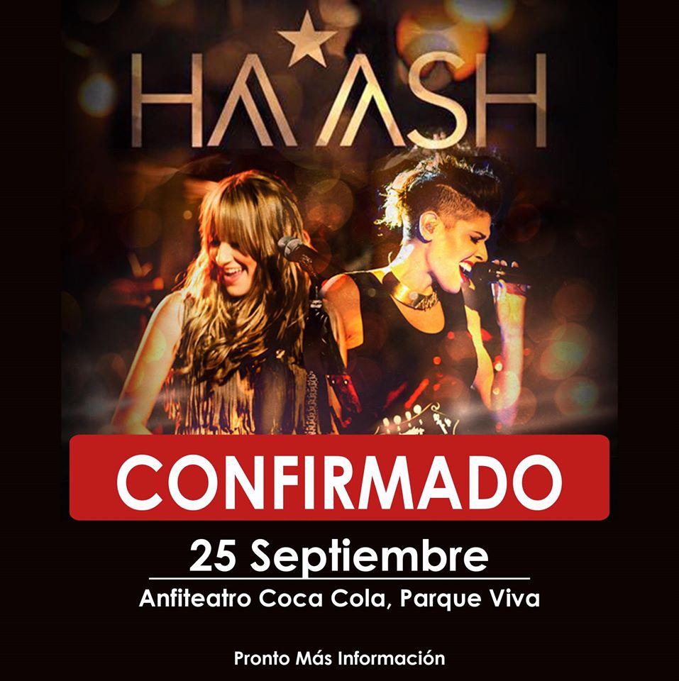 Concierto de HA Ash en Costa Rica 2016 Parque Viva