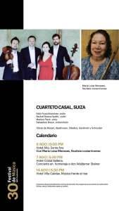 Festival de Música BAC Credomatic 2021 - Calendario 2