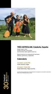 Festival de Música BAC Credomatic 2021 - Calendario 5