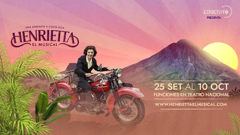 """Henrietta, el musical"" una serenata a Costa Rica - banner - ADIH"