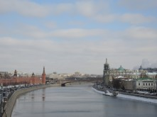 Red square and the bridge !