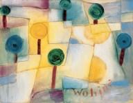 Paul Klee Wohin Junger Garten 1920