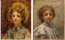 Ritratti di Luigi e Maria Villa