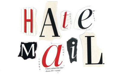 """Hate Mail – """"No Stamps"""""""