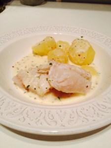 Cabillaud-microonde-poisson rapide-sauce poisson